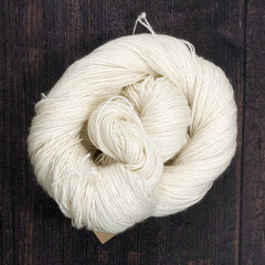 Undyed yarns