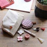 Cohana accessory pouch grey_