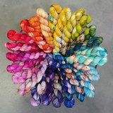 Merino Twist Sock Bright&Quirky_