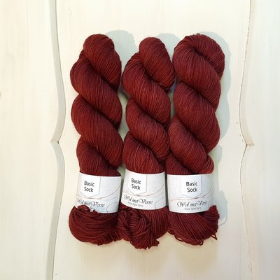 Basic Sock 4-ply - Mahogany 3-508-1.5-0120
