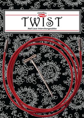 Chiaogoo Twist Red kabel 93 cm