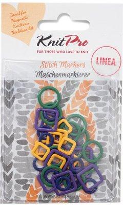 KnitPro Metal Stitch Marker Linea