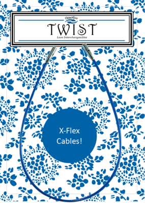 Chiagoo Twist Blue X-flex kabel