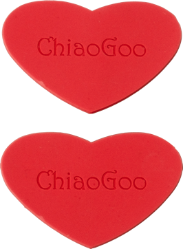 Chiaogoo Twist Rubber Heart