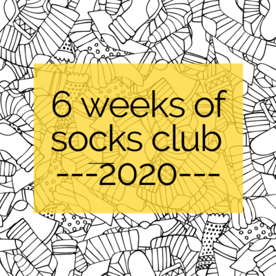6 Weeks of Socks Club 2020