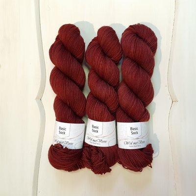 Basic Sock 4-ply - Mahogany 3-508-1.5-0220