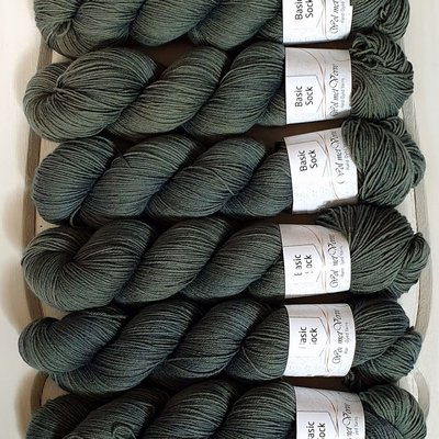 Basic Sock 4-ply - Olive 713-0220