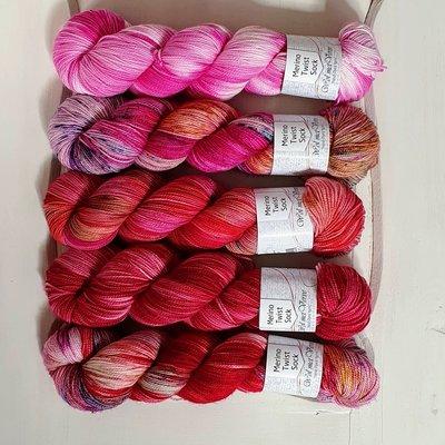 Merino Twist Sock - kit 2