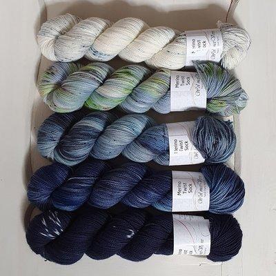Merino Twist Sock - kit 3