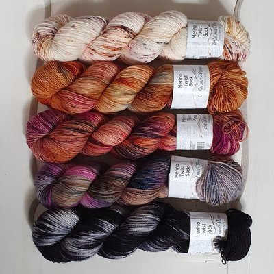 Merino Twist Sock - kit 4