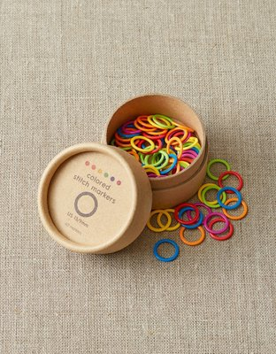 Large - Colored Ring Stitch Markers