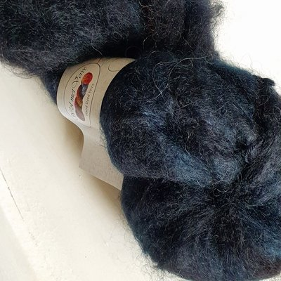 Vigorous Mohair DK - Black&Blue