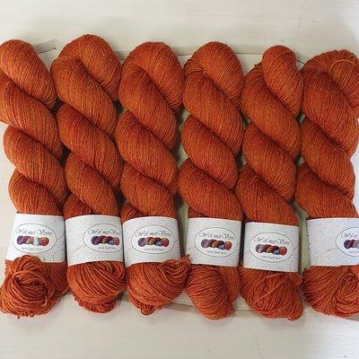 Basic Sock Hemp - Saffron
