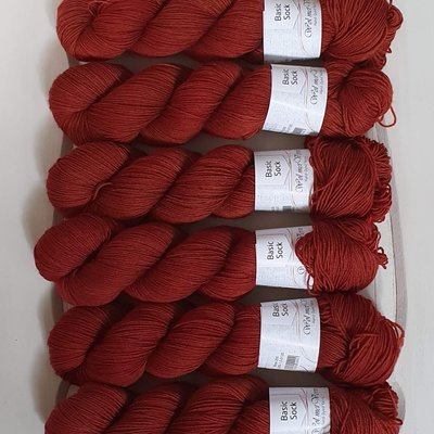Basic Sock 4-ply - Brick 255-0220