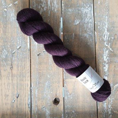 Basic Sock 4-ply 50g - Aubergine