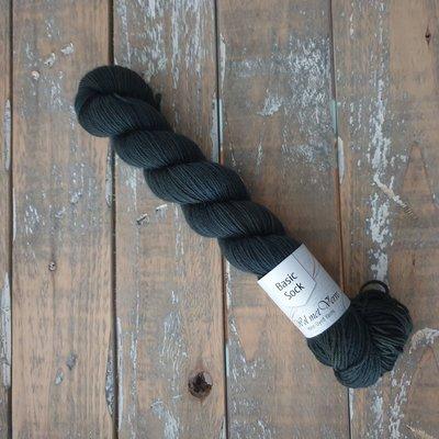 Basic Sock 4-ply 50g  Dark Olive