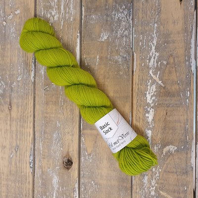 Basic Sock 4-ply 50g  Chartreuse