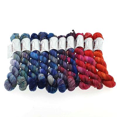 Merino Twist Sock Mini -kit 1