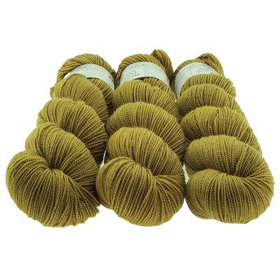 Merino Twist Sock  - Green Gold