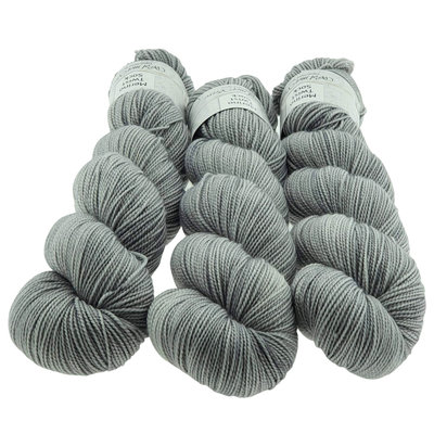 Merino Twist Sock  -  Silver