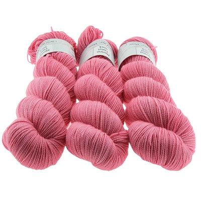 Merino Twist Sock  -  Flamingo Pink