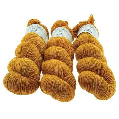 Merino Twist Sock  -  Turmeric