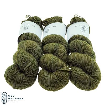 Basic Sock 4-ply -  Olive 0120