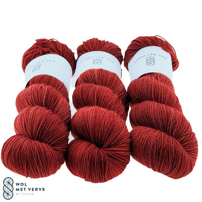 Basic Sock 4-ply - Chili pepper 372-0220