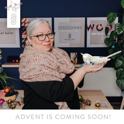 Advent Calendar 2021 knitting pattern incl. - 2 installments