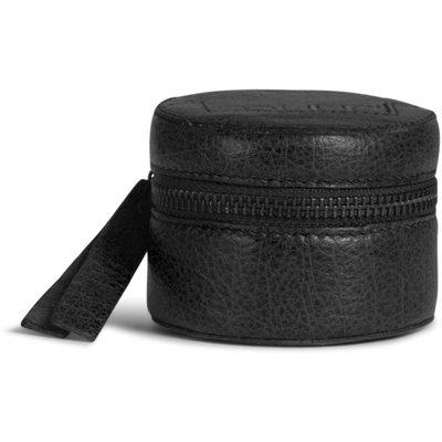 Helsinki Leather Cube, Black