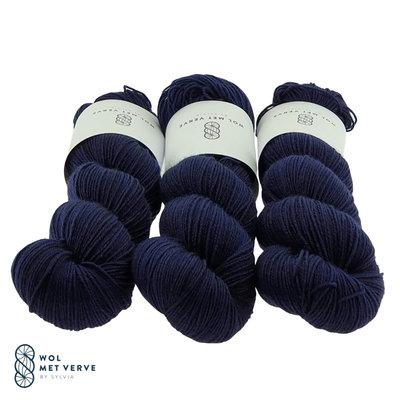 Basic Sock 4-ply - Navy 0221