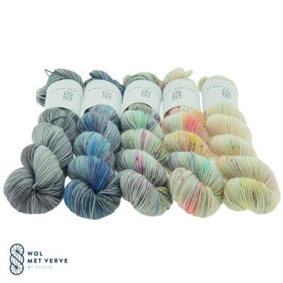 Basic Sock 4-ply 50g - Fade kit 2