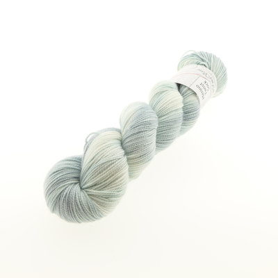 Merino Twist Sock - Country Greenl (knots)