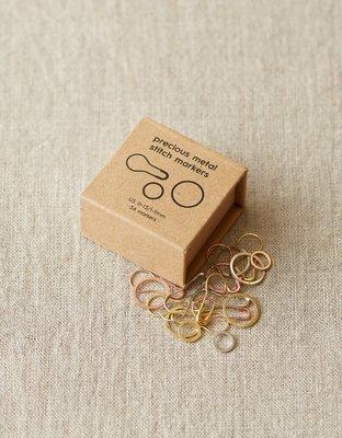 Precious Metal Stitch Markers