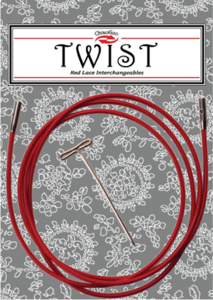 Chiaogoo Twist Red kabel 125 cm