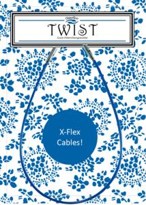 Chiagoo Twist Blue X-flex kabel