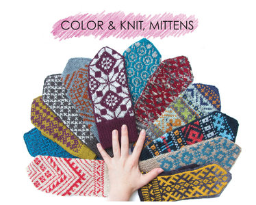 Color & Knit Mittens - Aleks Byrd
