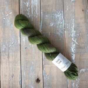 Basic Sock 4-ply 50g  Moss Green
