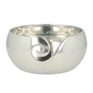 Furls Metal Yarn Bowl - Silver